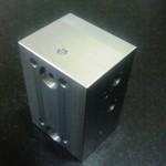 空圧部品の量産切削