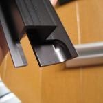 アルミ押し出し材への切削加工