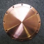 銅加工 バッキングプレート