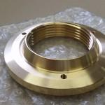 真鍮 複合旋盤加工品 メッキ前